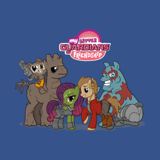 My Little Guardians of Friendship t-shirts