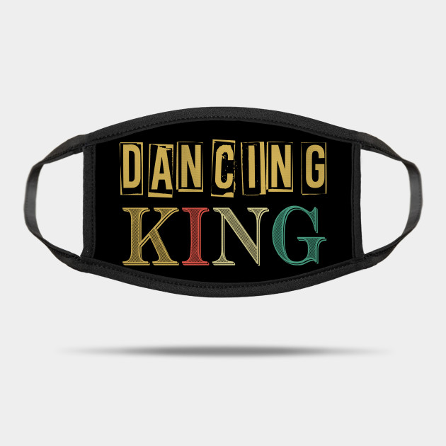 Vintage Disco King 80'Retro Themed Design