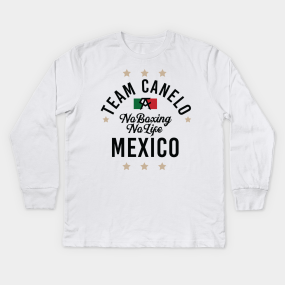 84e6750db0a8 Canelo Saul Alvarez Kids Long Sleeve T-Shirts | TeePublic