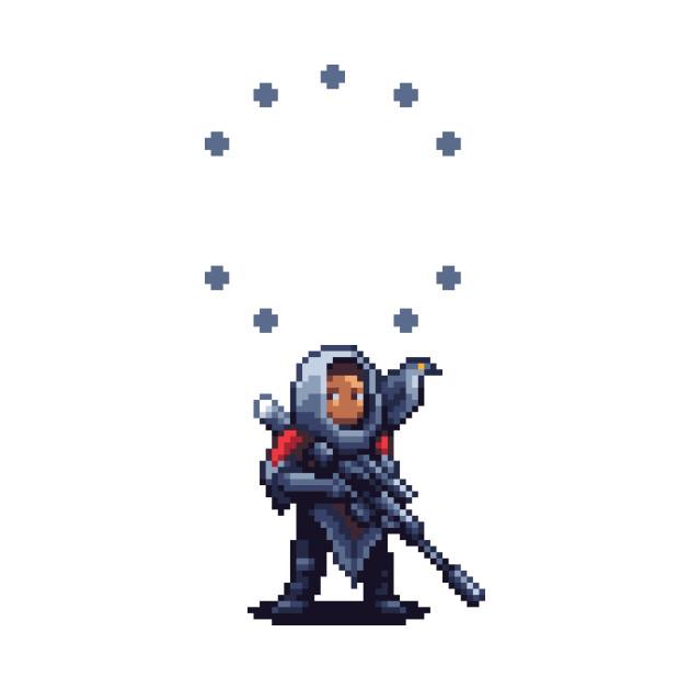 Destiny 2 Hawthorne & Louis Pixel Art
