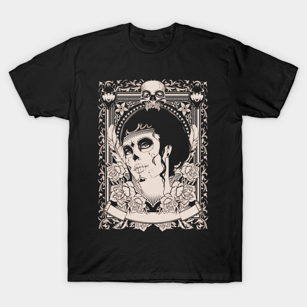 Voodoo Face New Orleans Skull Face T Shirt Teepublic