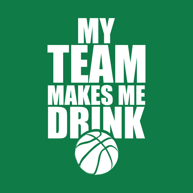 NBA Basketball Team Drink