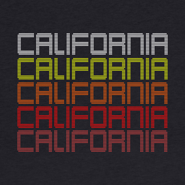 Retro Vintage California