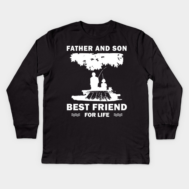 511fd113 father and son fishing - Father And Son Fishing - Kids Long Sleeve T ...