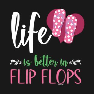 """FLIP FLOPS w//Polka Dots Beach Decal Sticker LIFE is cooler Summer 10/"""""""