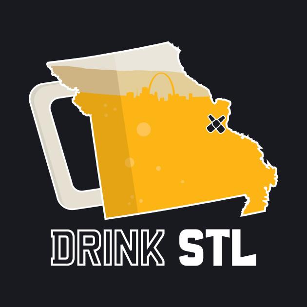 Drink STL - St. Louis Beer Shirt