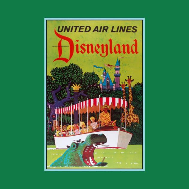 Retro Disneyland Jungle Cruise Poster