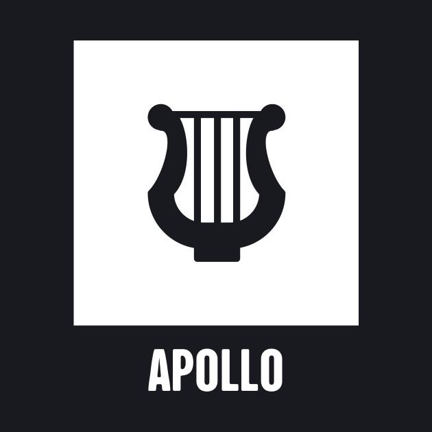 Apollo Greek Mythology God Symbol Greek Mythology Baseball T