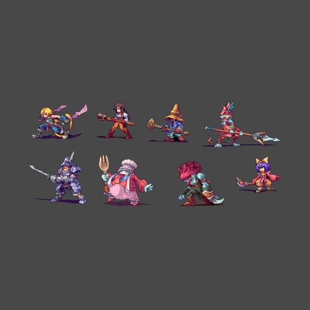 Final Fantasy IX Pixel Art