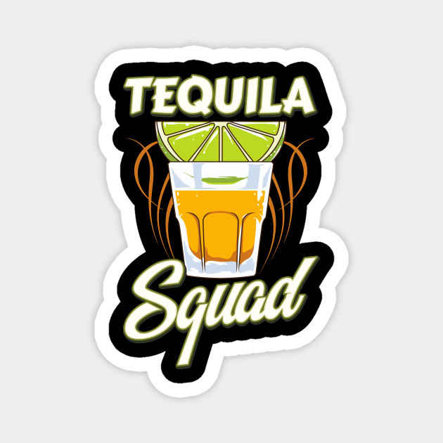 Cute & Funny Tequila Squad Margarita Drinking