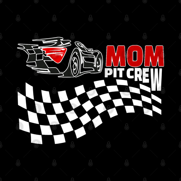 Pit Crew Car Racing funny family gift