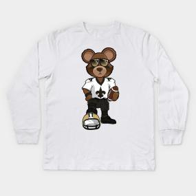 super popular aebcc d67c0 New Orleans Saints Kids Long Sleeve T-Shirts | TeePublic