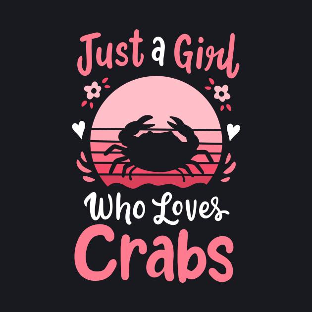 Crab Crabbing Crab Lover Retro