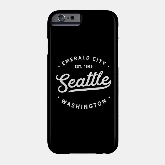 Seattle Washington Emerald City Est 1869