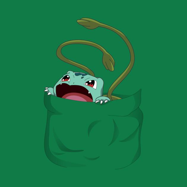 Pocket Pal Bulbasaur Bulbasaur T Shirt Teepublic