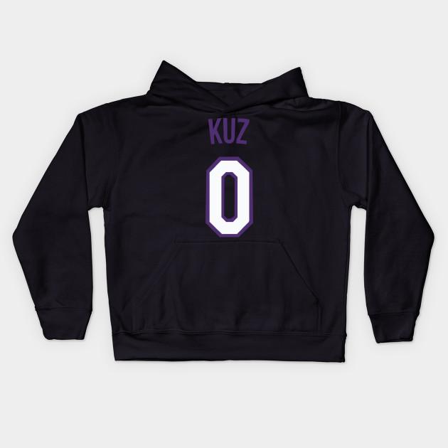 buy popular 137b6 6d2ff Kyle Kuzma 'KUZ' Nickname Jersey - Los Angeles Lakers