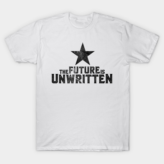 Unwritten It Future Is MagliettaTeepublic The Clash SzMjGqVpUL