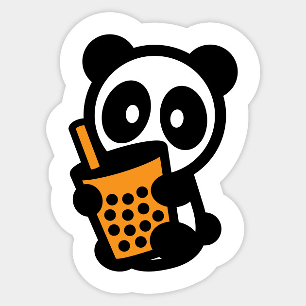 Bubble Tea Panda Bambu Brand Boba
