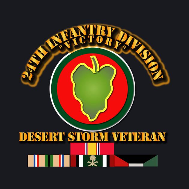 Army - 24th Infantry Division - Desert Storm Veteran