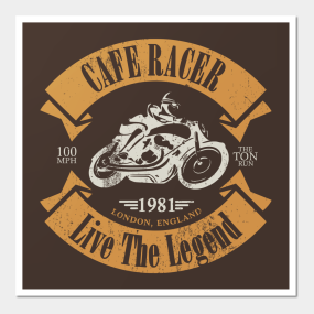 Cafe Racer Posters And Art