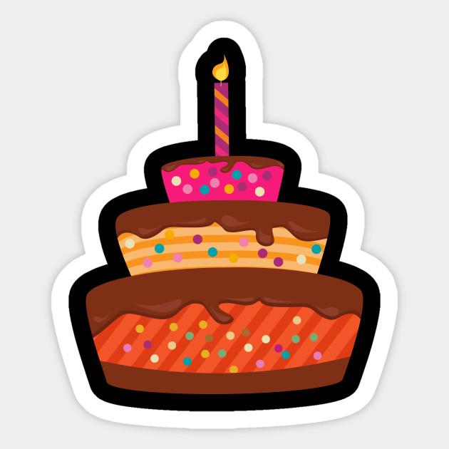 Birthday Cake Food Desert Yum Funny Humor Tee Yum Funny