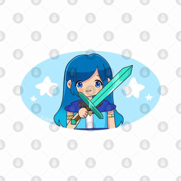 Funneh Gacha Girl with Sword