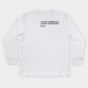 2407f74ddc47 Oxlade-Chamberlain x Off White Kids Long Sleeve T-Shirt