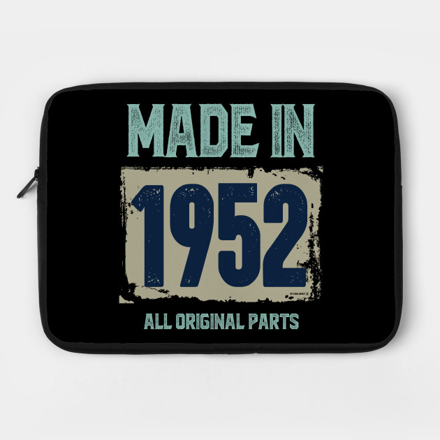 Made In 1952 All Original Parts