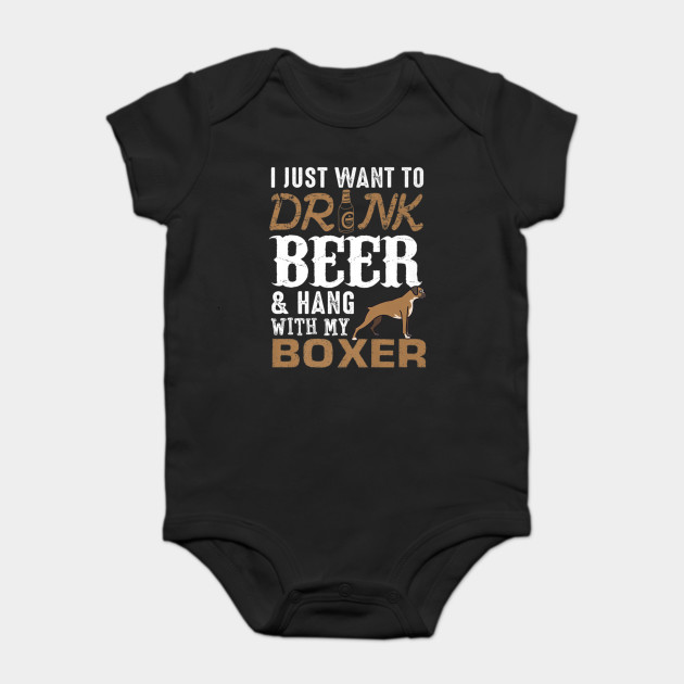 84468ae31 Mens Boxer Dad T Shirt Funny Father's Day Dog Lover Gift Beer Tee ...