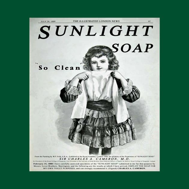 Vintage Sunlight Soap Advertisement