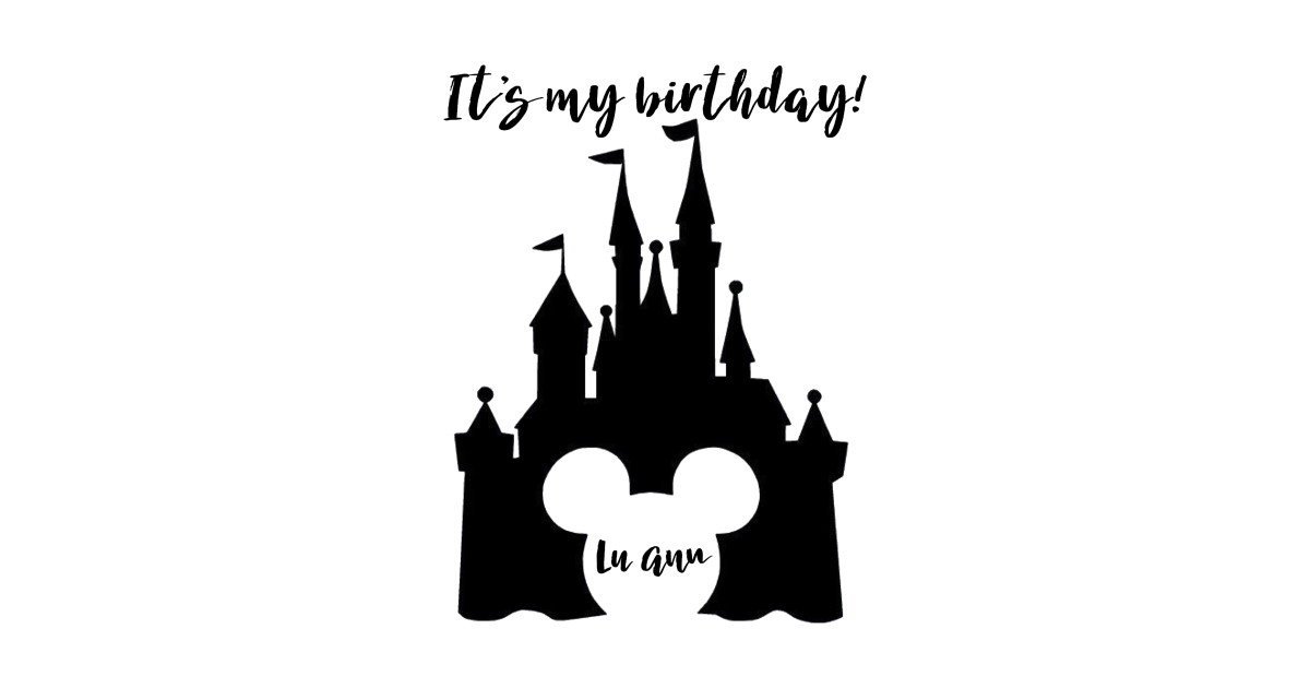 LuAnn Disney Birthday T Shirt