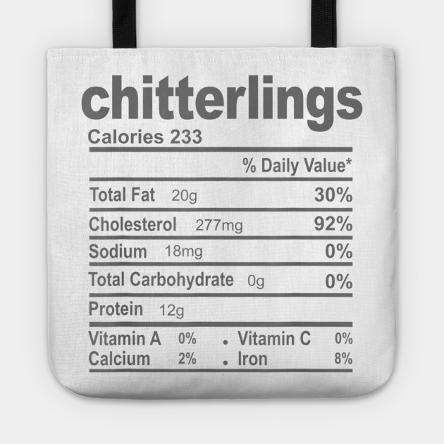 Funny Chitterlings Nutrition Facts