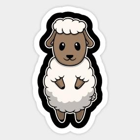 Sheeps Stickers | TeePublic