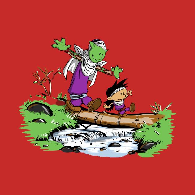 Gohan And Piccolo