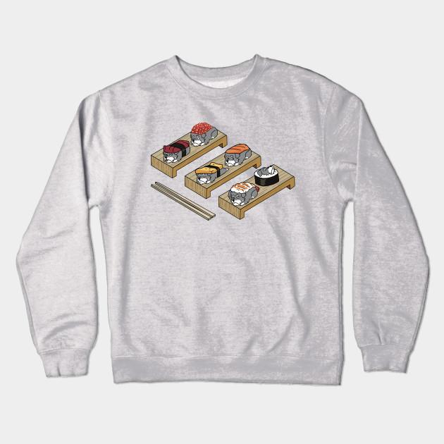 fd9c0017 Schnauzer Sushi Table - Schnauzer - Crewneck Sweatshirt | TeePublic
