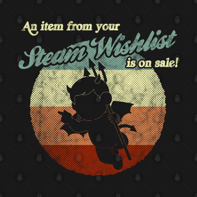 Steam Wishlist sale
