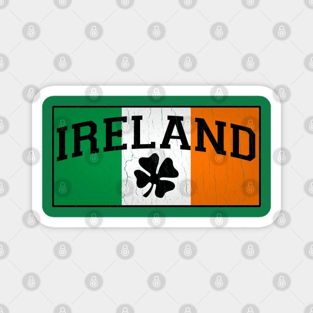 Irish Flag (vintage distressed look)