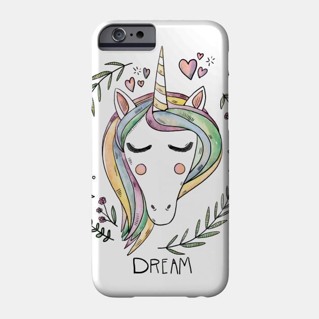 Unicorn Animal Phone Case For iPhone 7