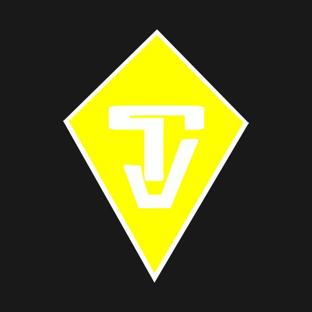 "TJ ""Tyler Jones"" Yellow and White logo"
