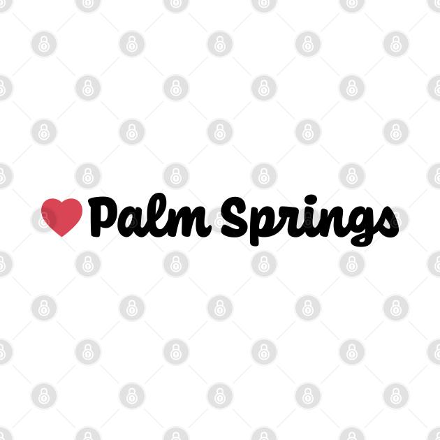 Palm Springs Heart Script