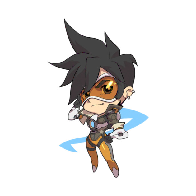 Overwatch Tracer Cute Spray