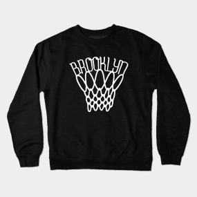 fe19a5048c42 Brooklyn Nets Crewneck Sweatshirts