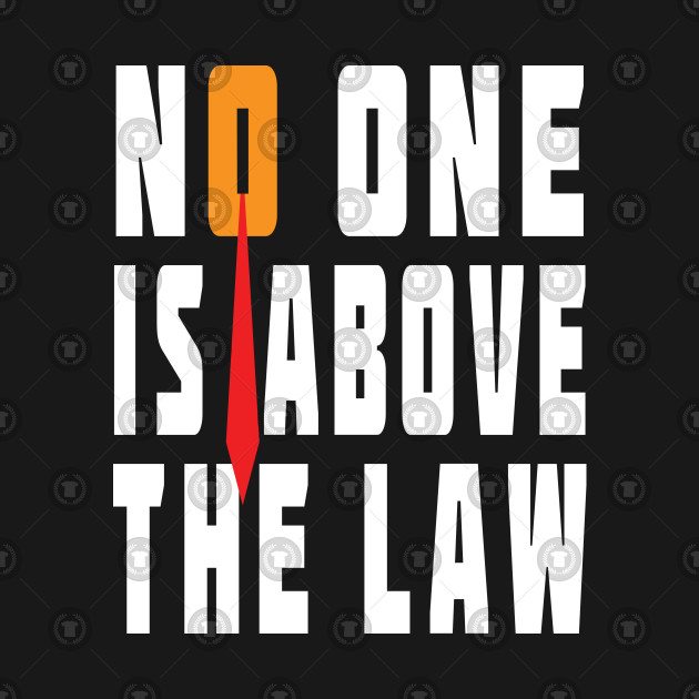 Trump Is Not Above The Law Home: Trump Is Not Above The Law - Trump Sucks - T-Shirt