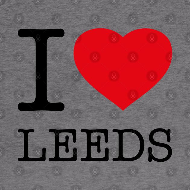 I Love Heart Leeds T-Shirt