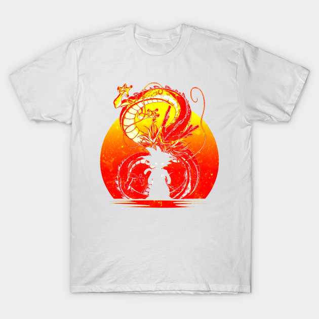 DRAGON BALL SILHOUETTE T-Shirt-TOZ