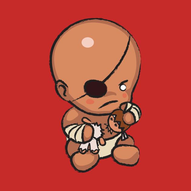 Street Fighter Babies: Sagat