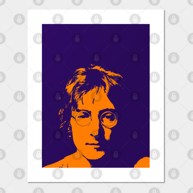 John Lennon Shiluette John Lennon Imagine Posters And Art Prints Teepublic
