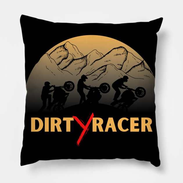 Dirt Racer Sports Biker Graphic Design