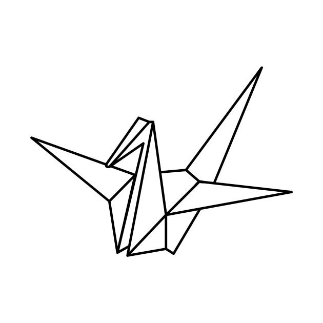 Origami Crane Origami Crane T Shirt Teepublic