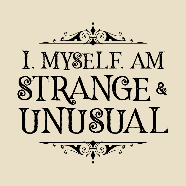 Strange and Unusual (Light)